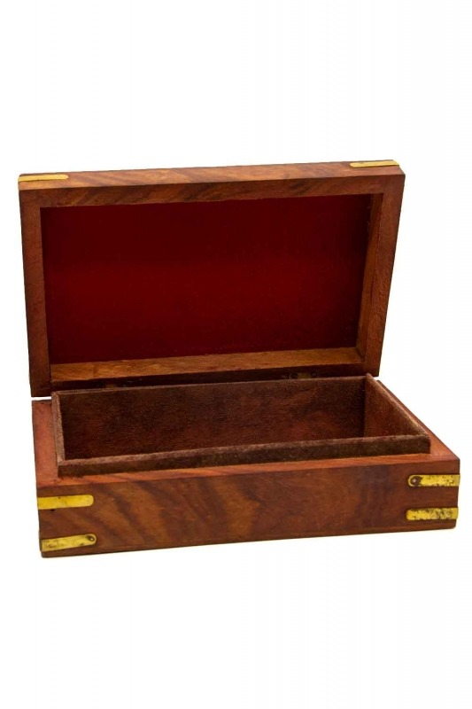 Indian Engraved Jewelry Box (St)