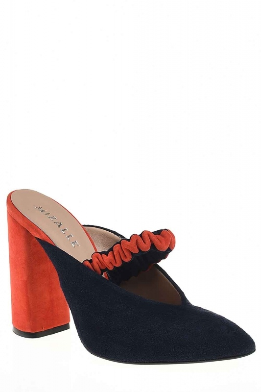 Two Colored Leather Shoes