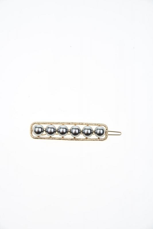 Pearl Detailed Hair Clips (Ecru)
