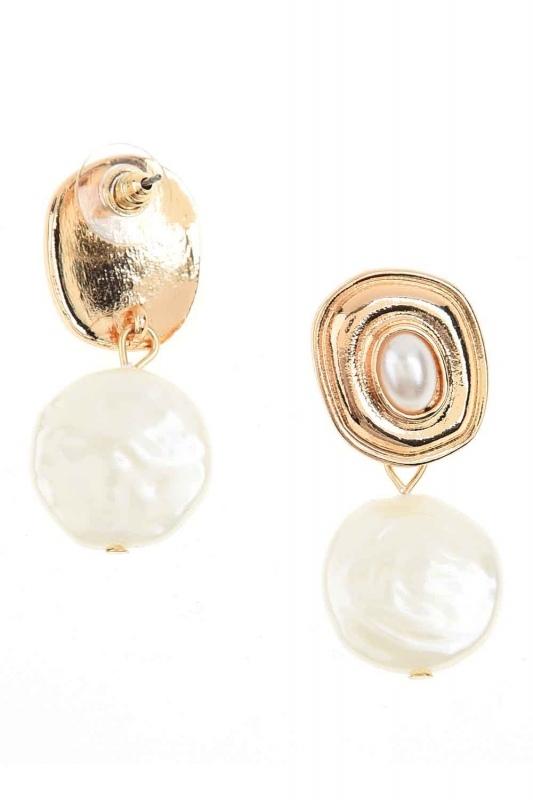 Pearl Dangling Earrings (St)