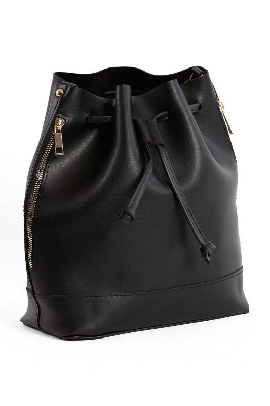 الرباط ، اليد والكتف حقيبة (أسود)