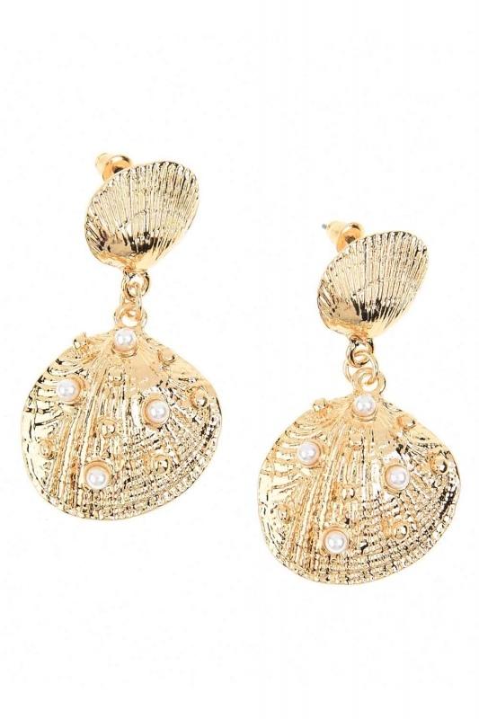 Oyster Earrings (St)