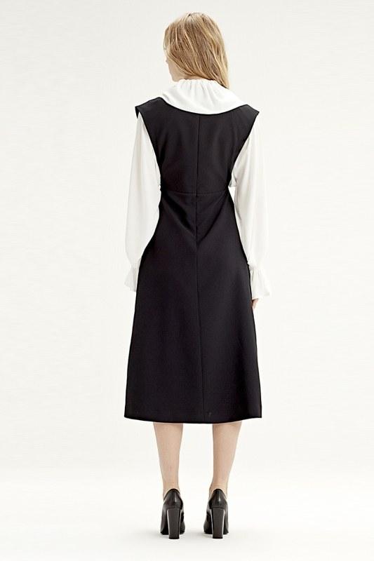 Gilet Dress (Black)