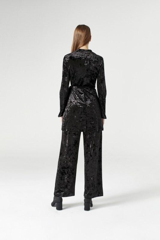 Velvet Kimono (Black)