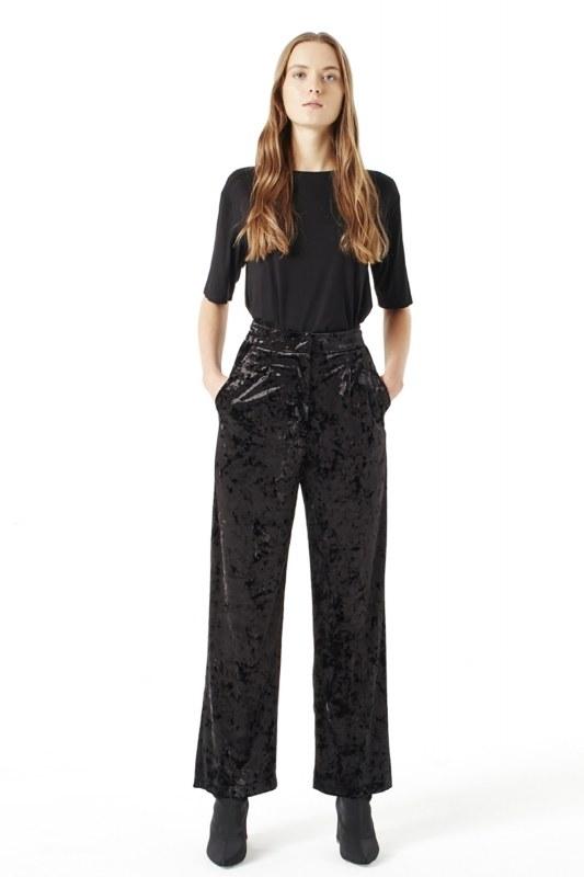 Velvet Trousers (Black)