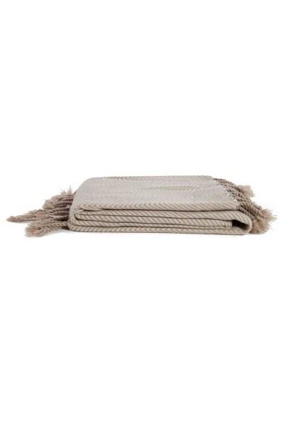 Kahverengi Koltuk Şalı (130x170) - Thumbnail