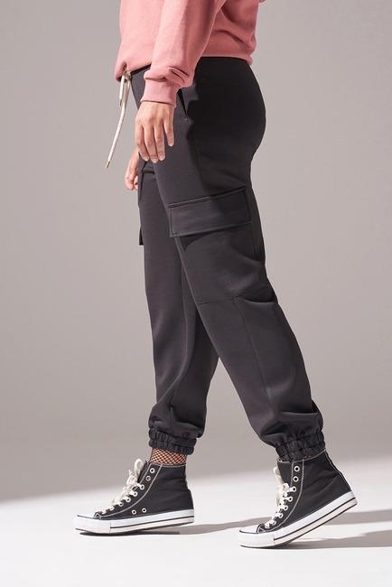 Kargo Cepli Scuba Pantolon (Siyah) - Thumbnail