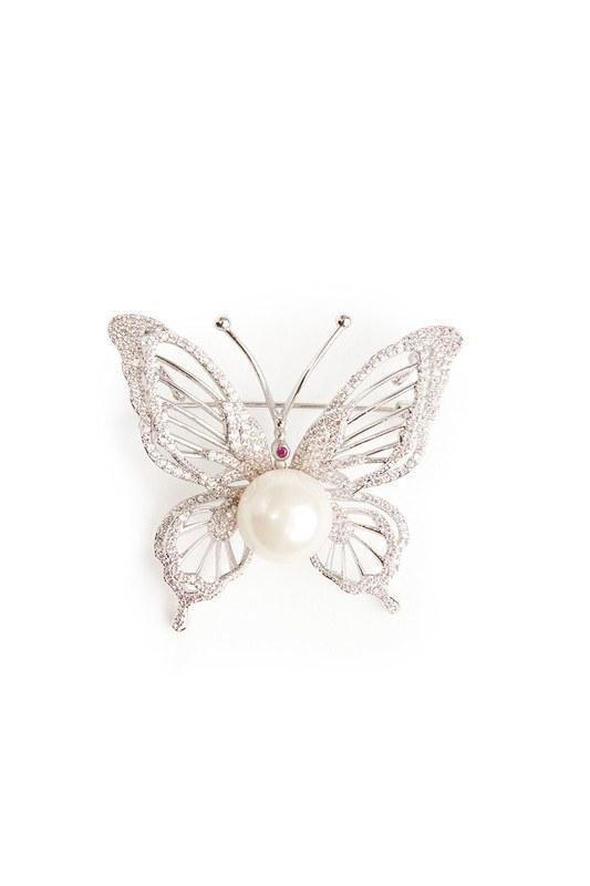 Kelebek Broş (St)