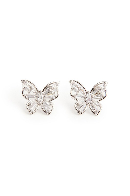 Kelebek Küpe (Silver)