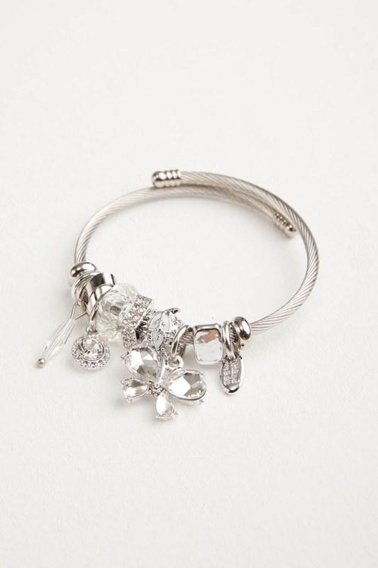 Butterfly Bracelet (White)
