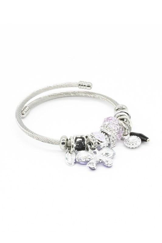 Butterfly Bracelet (Lilac)