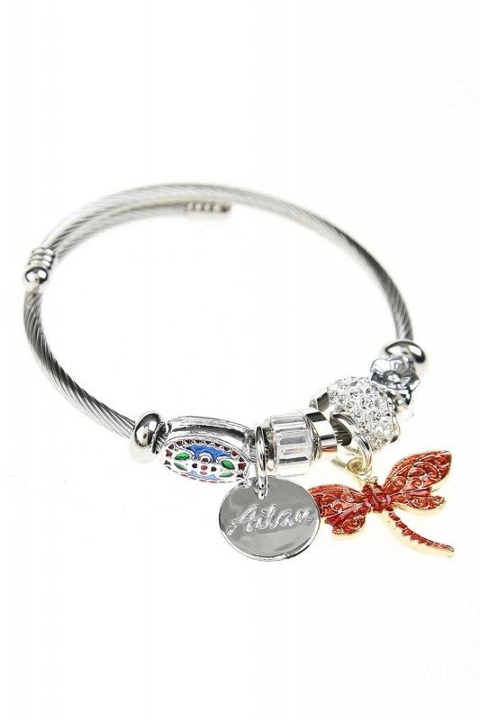 Butterfly Bracelet (Red)
