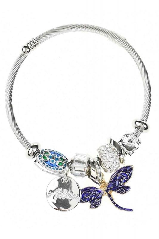 Butterfly Bracelet (Purple)