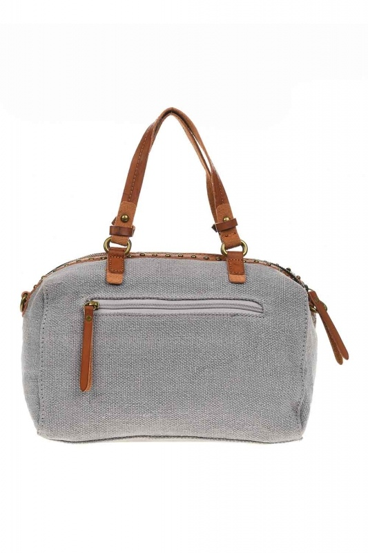 Linen Arm Bag (Grey)