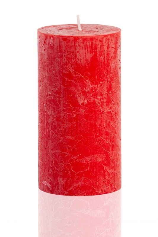 Cylinder Form Red Rustic (13X6,8)