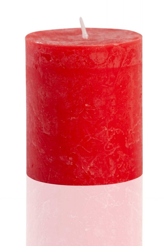 Silindir Kırmızı Rustik (8X6,8)