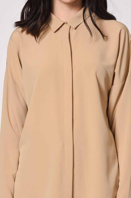 قميص كاجوال كلاسيكي (بيج)