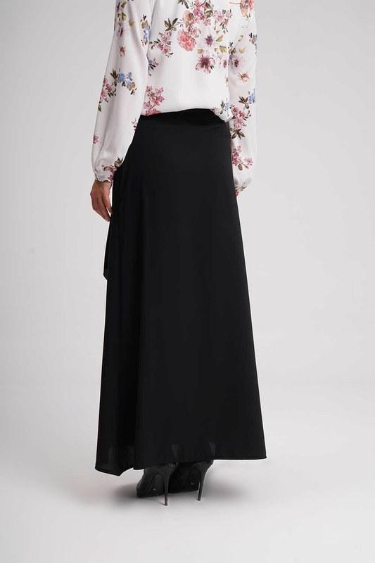 Classic Long Skirt (Black)