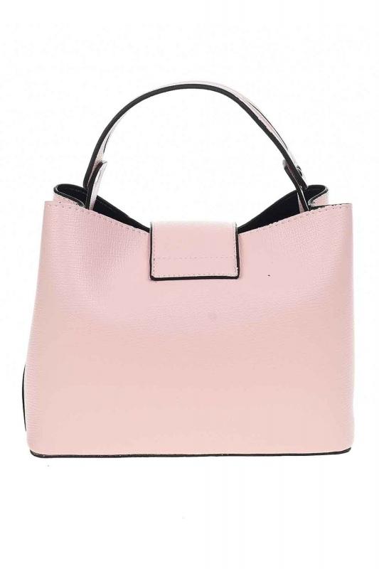 Snaps Detailed Small Handbag (Powder)
