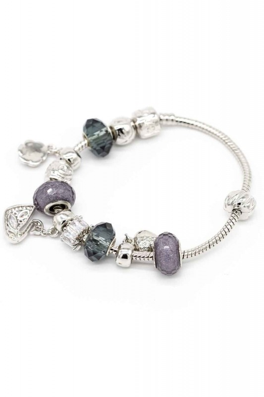 Swan Shaped Bracelet (Grey)