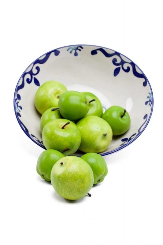 التفاح الزخرفية ، محاصر