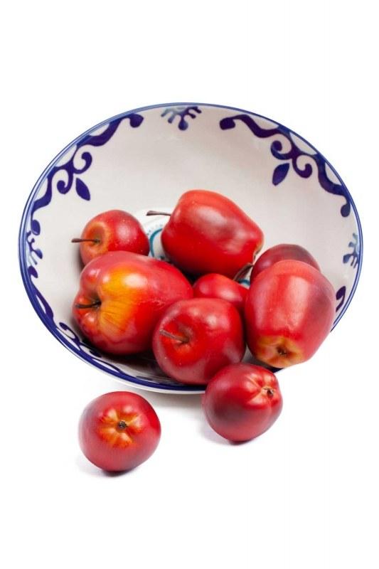 Kutulu Dekoratif Kırmızı Elma(