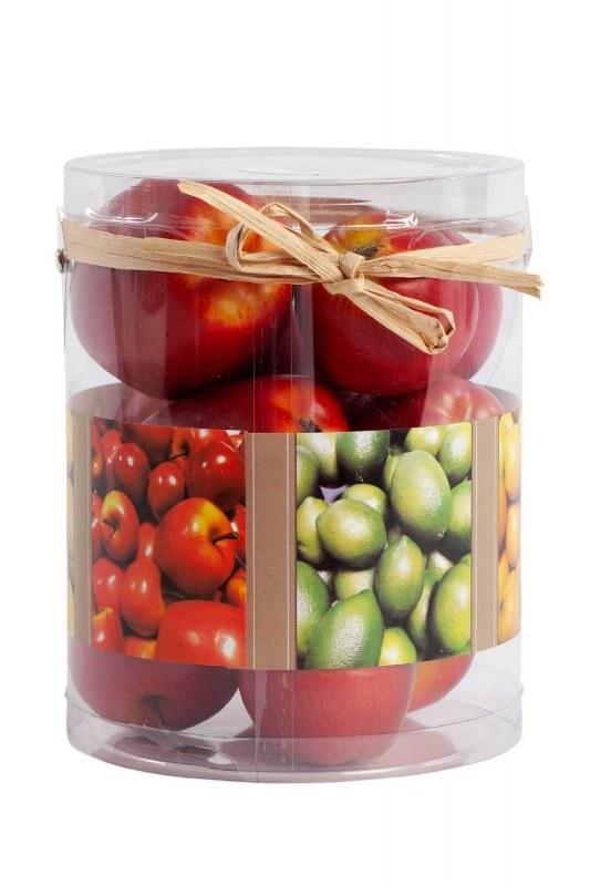 Kutulu Dekoratif Elma (Kırmızı)