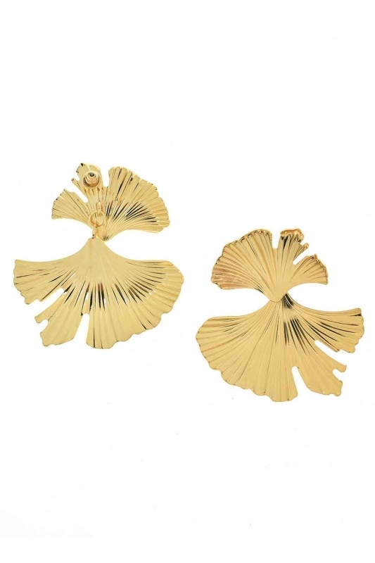 Leaf Design Earrings (St)