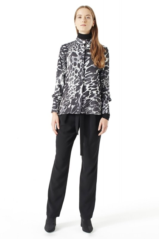 Leopard Shirt (Black)