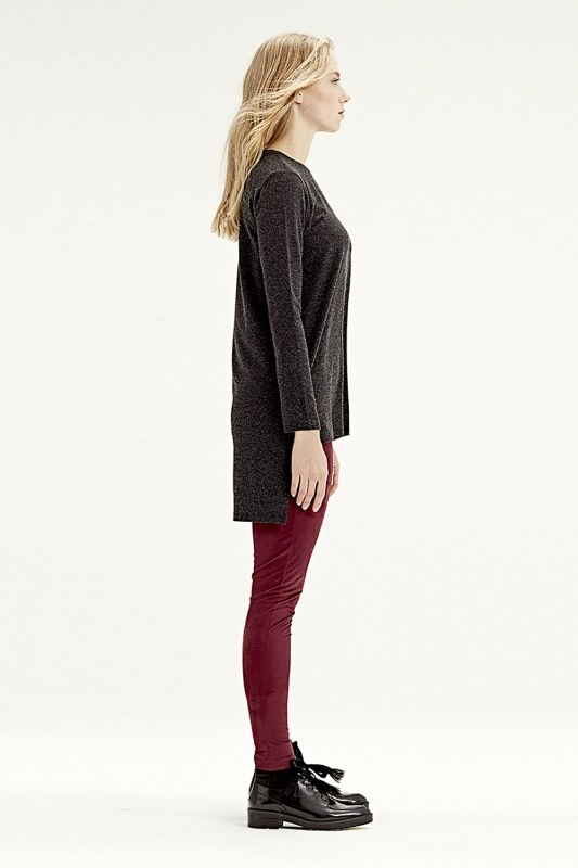 Long Back Tunic (Black)
