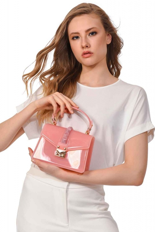 Luxury Pink Hand Bag (Pink)