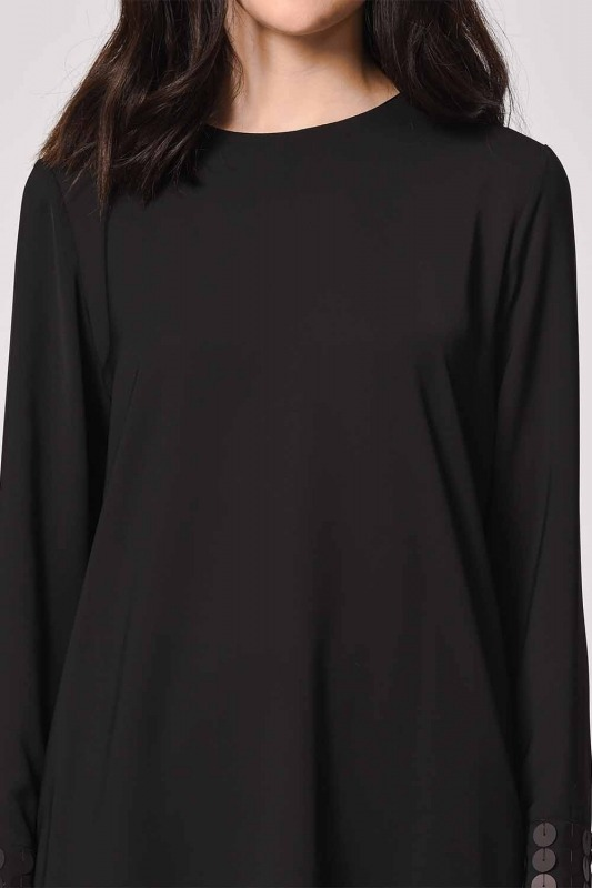 Sequin Blouse (Black)