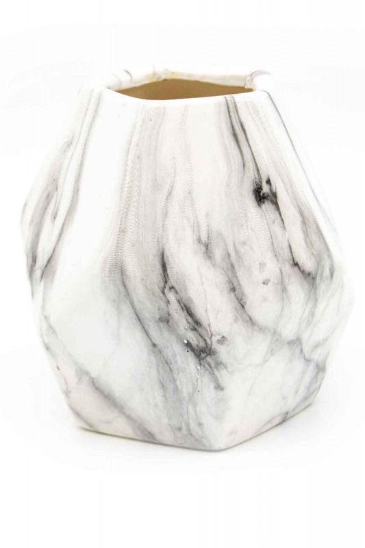 Marble Looking Small Vase (St)