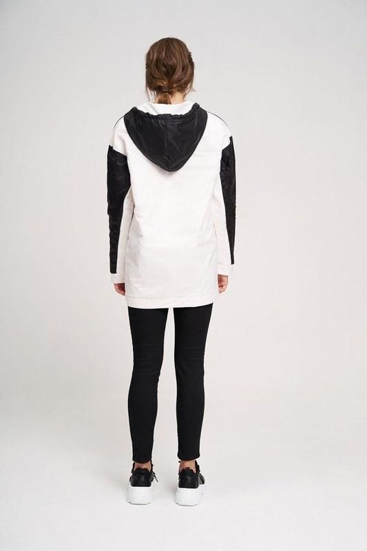 Micro Coated Sweatshirt (Black)
