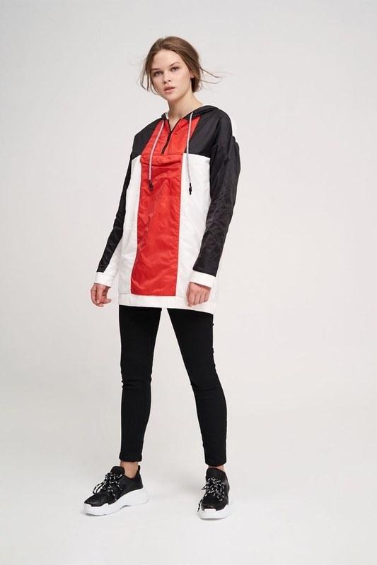 Mikro Kaplamalı Sweatshirt (Siyah)