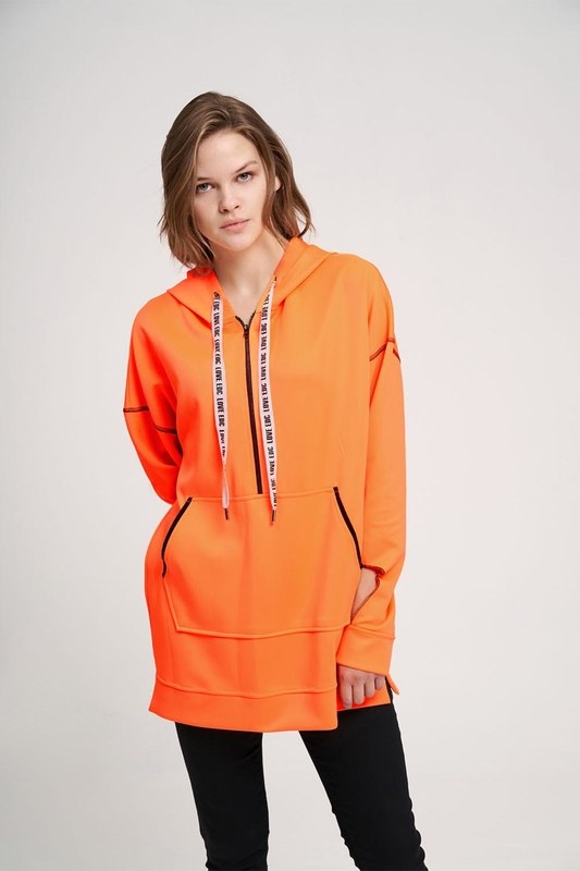 Neon Sweatshirt (Orange)