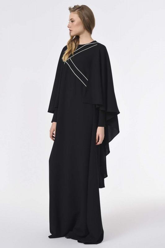 Front Design Dress (Black)