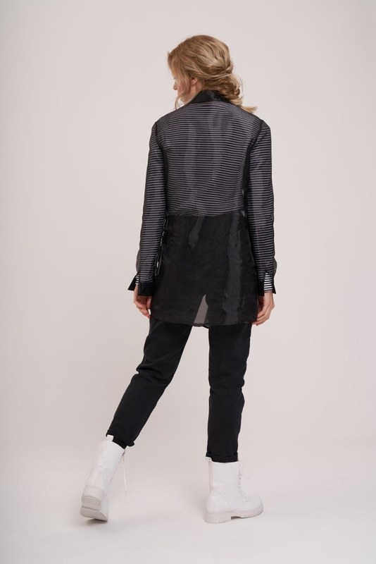 Organza Shirt (Black)