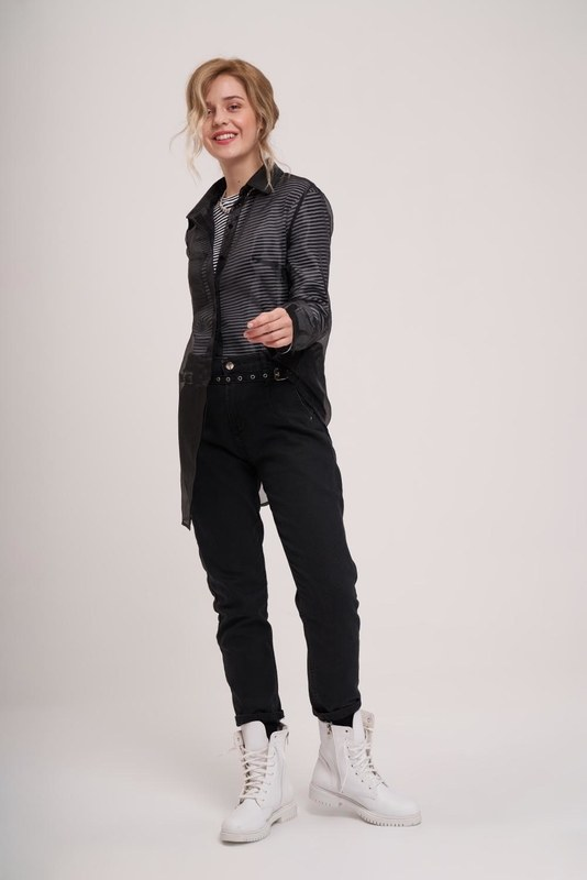 Organza Shirt (Black)