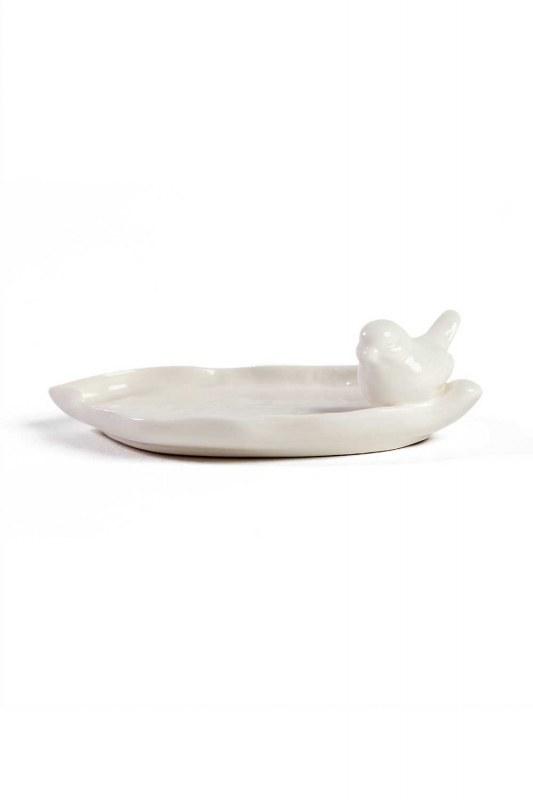 Oval Porselen Takı Tabağı