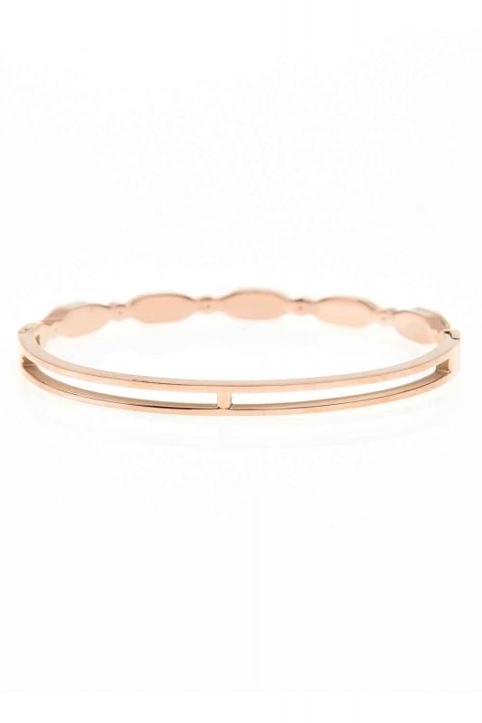 Oval Steel Bracelet (St)