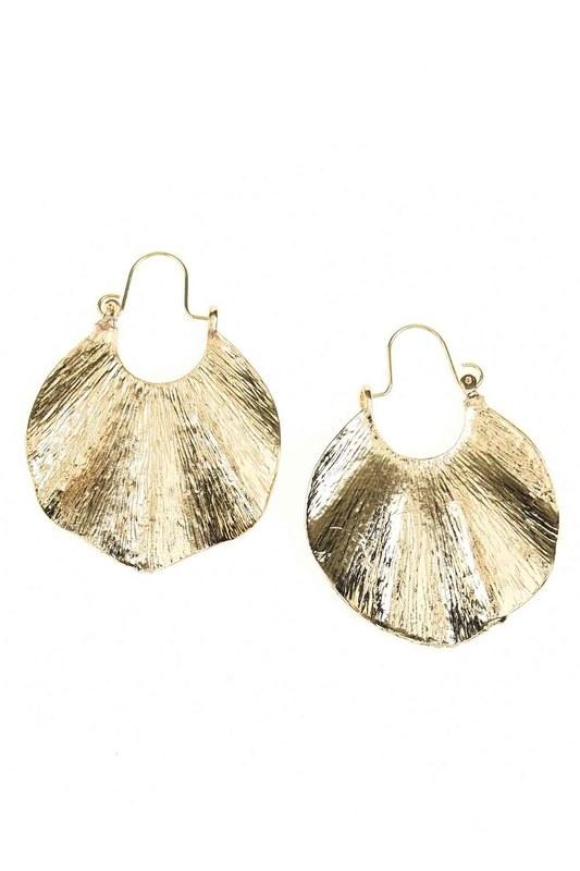 Oyster Ring Earrings (St)