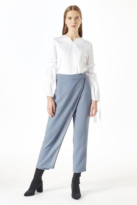 Trouser Skirt (Indigo)