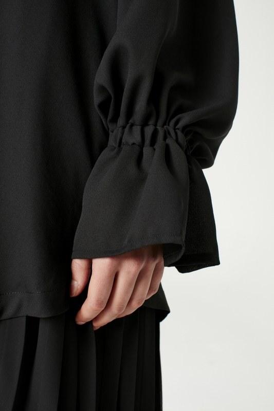 Cloak Collar Dress (Black)