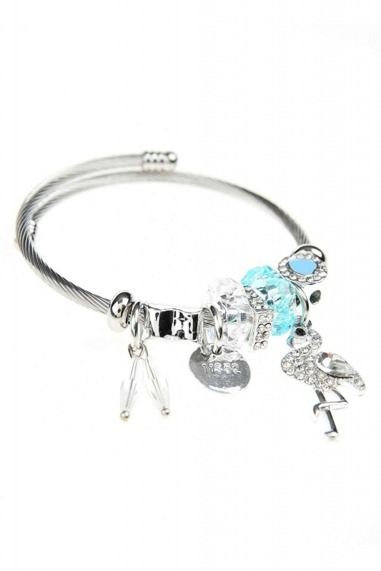 Pelican Detailed Bracelet (Blue)