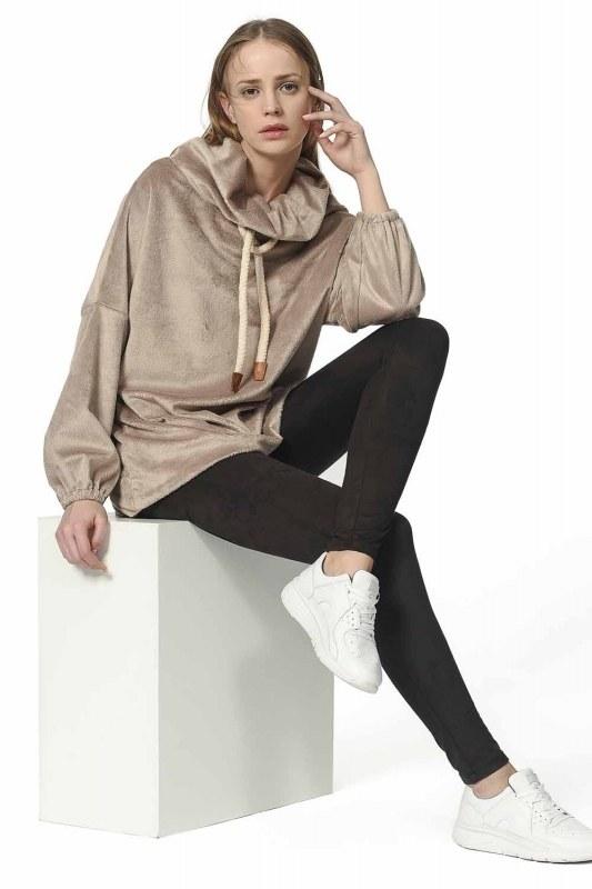 Plush Sweatshirt (Mink)