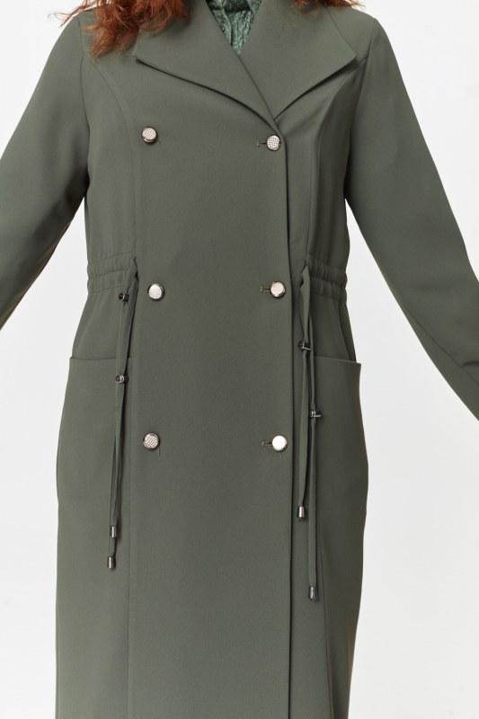 Pike Textured Trenchcoat (Khaki)