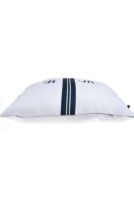 Pillow Case (Navy Blue Stripe)