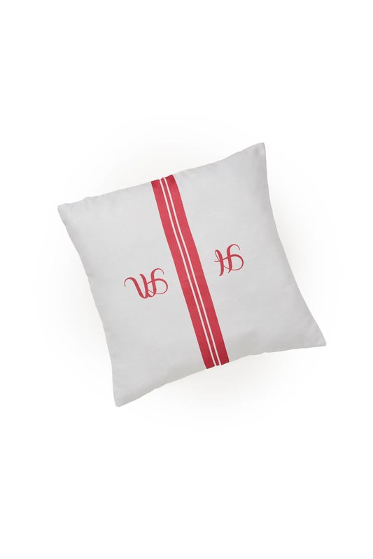 Pillow Case (Red Stripe)
