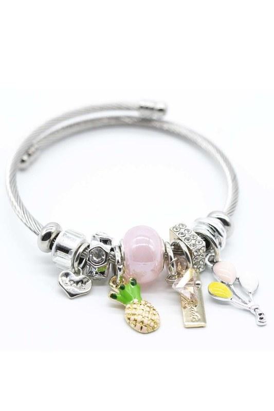 Pineapple Bracelet (Pink)